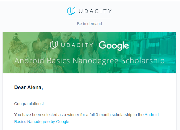 Google Nanodegree Program